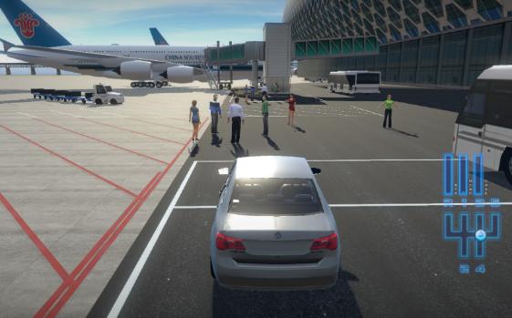 机场驾驶员模拟驾驶培训项目